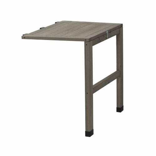 VegTrug Side Table Gray Wash FSC 100% Perspective: front