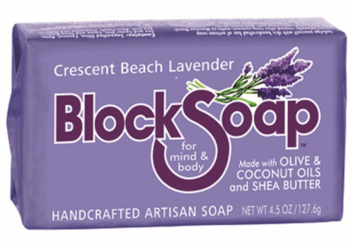 Block Soap New Harbor Unscented Oatmeal Perspective: front