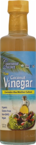 Coconut Secret Raw Coconut Vinegar Perspective: front