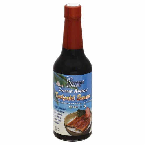 Coconut  Secret Coconut Amions Teriyaki Sauce Perspective: front