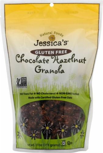 Jessica's Natural Foods Gluten Free Chocolate Hazelnut Granola Perspective: front