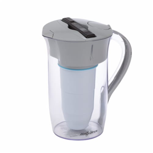 ZeroWater® Round Water Filtration Pitcher Perspective: front