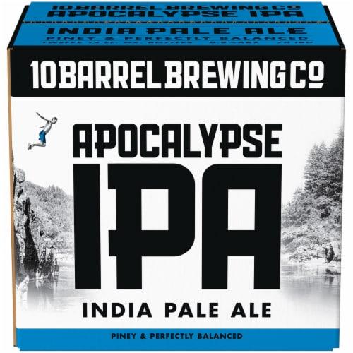 10 Barrel Brewing Co. Apocalypse IPA Perspective: front