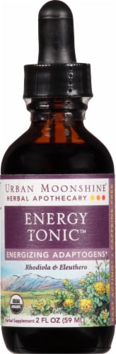 Urban Moonshine Energy Tonic Herbal Supplement Perspective: front