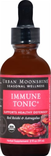 Urban Moonshine Immune Tonic With Cup Perspective: front