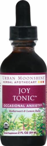 Urban Moonshine Joy Tonic Herbal Supplement Perspective: front