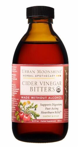 Urban Moonshine  Organic Cider Vinegar Bitters Perspective: front