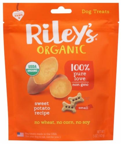 Riley's Organics  Small Bones Sweet Potato Recipe Perspective: front