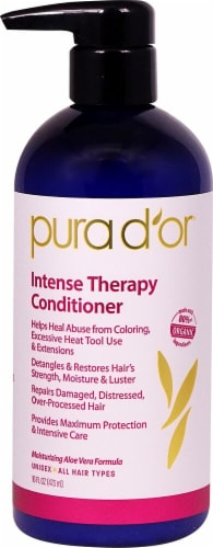 Pura D'or  Intense Therapy Conditioner Perspective: front