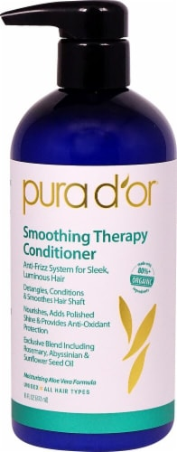 Pura D'or  Smoothing Therapy Conditioner Perspective: front