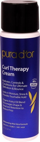 Pura D'or  Curl Therapy Cream Perspective: front