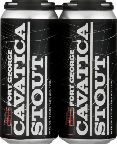 Fort George Cavatica Stout Perspective: front