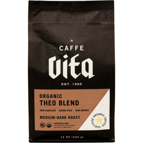 Caffe Vita Theo Fairtrade Coffee Perspective: front