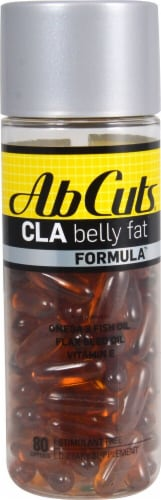 Ab Cuts  Midsection Formula - CLA Perspective: front