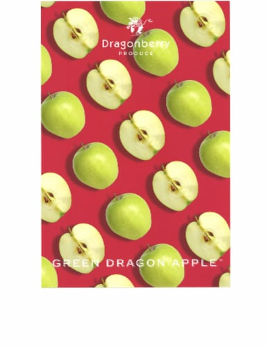 Chobani Green Dragon Apple Pouch Perspective: front