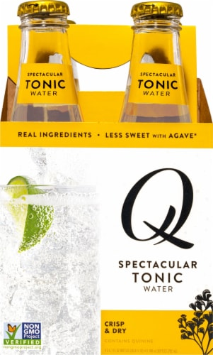 Q Mixers Tonic Water Perspective: front