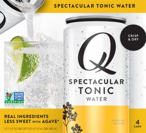 Q Tonic Water Perspective: front