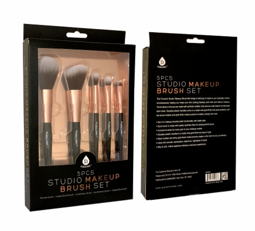 Pursonic Studio Makeup Brush Set Perspective: front