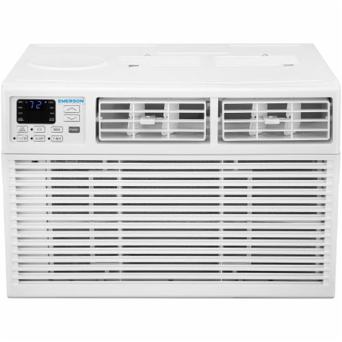 Emerson Quiet 6000 BTU 115V Window Air Conditioner with Remote Control Perspective: front