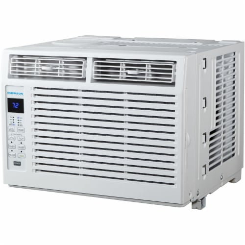 Emerson Quiet 5000 BTU 115V Window Air Conditioner with Remote Control Perspective: front