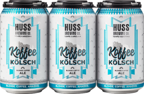 Huss Brewing Co. Koffee Kolsch Perspective: front