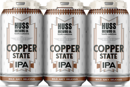 Huss Brewing Co. Copper State IPA Perspective: front