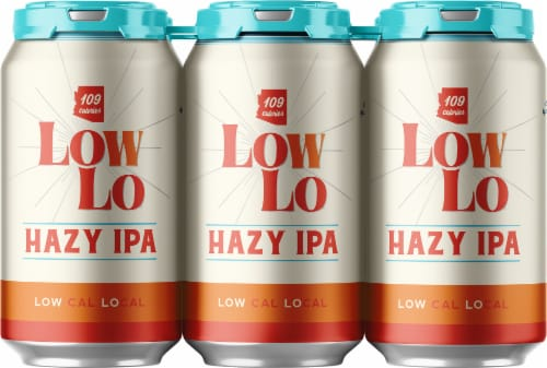 Huss Brewing Co. Low Lo Hazy IPA Perspective: front