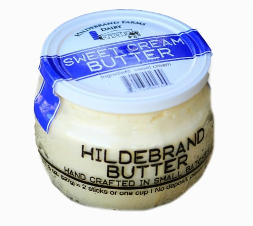 Hildebrand Farms Sweet Cream Butter Perspective: front