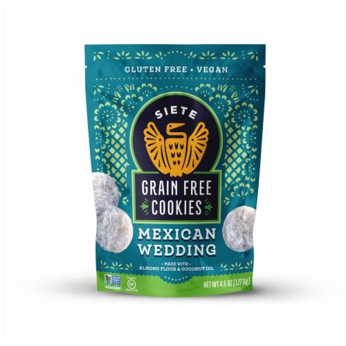 Siete Grain Free Mexican Wedding Cookies Perspective: front