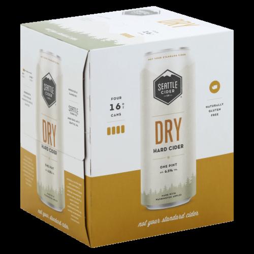 Seattle Cider Dry Hard Cider Perspective: front