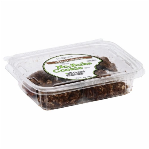 No-Bake Co. Chocolate Oatmel Cookies Tub Perspective: front