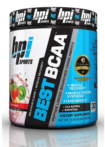 BPI  Sports Best BCAA™   Fruit Punch Perspective: front