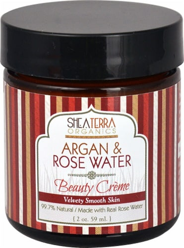 Shea Terra Organics  Argan & Rose Water Beauty Crème Perspective: front