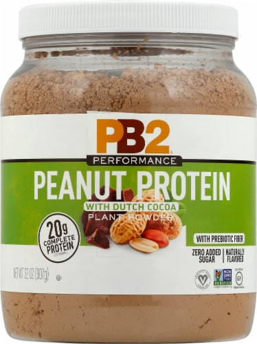 PB2 Performance Peanut with Dutch Cocoa Protein Powder Perspective: front