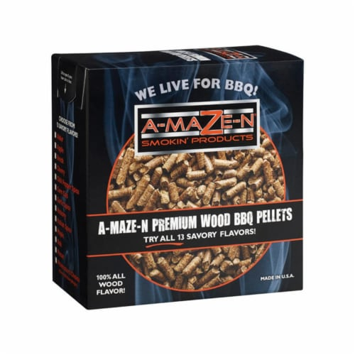 A-MAZE-N All Natural Apple Wood Pellets 2 lb. - Case Of: 1; Perspective: front