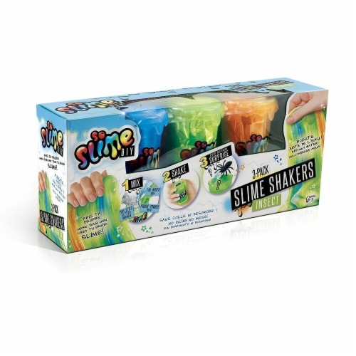 So Slime DIY 30367875 Colored Slime Shaker Toys - Pack of 3 Perspective: front