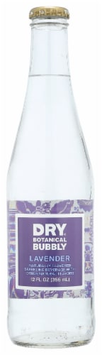DRY Sparkling Lavender Soda Perspective: front