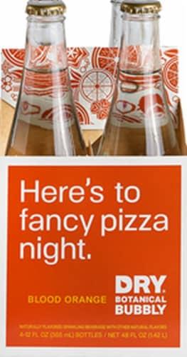 DRY Sparkling Blood Orange Soda Perspective: front