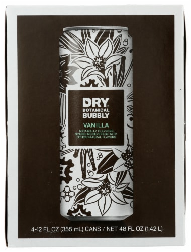 Dry Vanilla Bean Botanical Bubbly Perspective: front