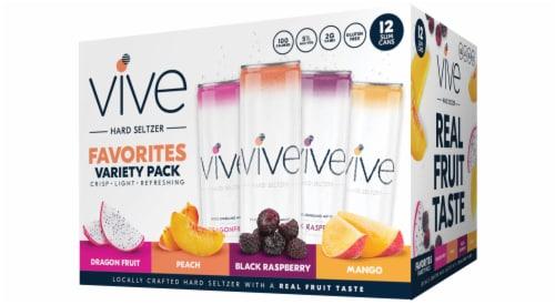 VIVE Hard Seltzer Favorites Pack Perspective: front