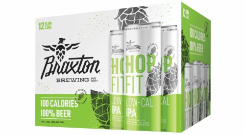 Braxton Hop Fit Low-Cal IPA Perspective: front