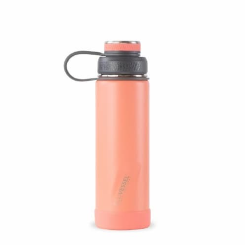 EcoVessel TriMax® Insulated Stainless Steel Water Bottle - Tropical Mango Perspective: front