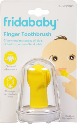 Fridababy  SmileFrida The Finger Toothbrush Perspective: front