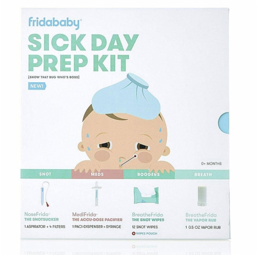 Fridababy  Sick Day Prep Kit Perspective: front