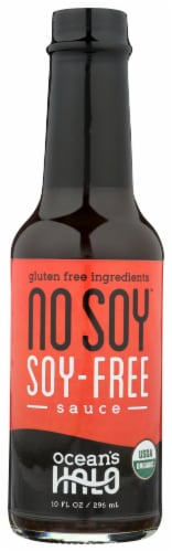 Ocean's Halo No Soy Soy-Free Sauce Perspective: front