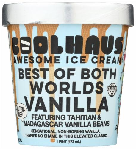 Coolhaus Tahitian & Madagascar Vanilla Bean Ice Cream Perspective: front