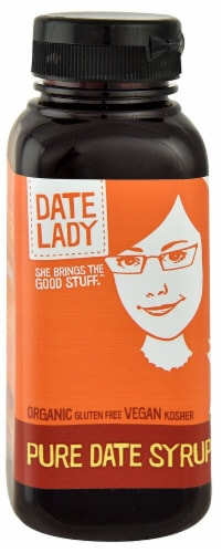Date Lady  Organic Pure Date Syrup Perspective: front