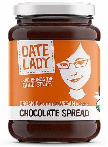 Date Lady  Organic Chocolate Spread Perspective: front
