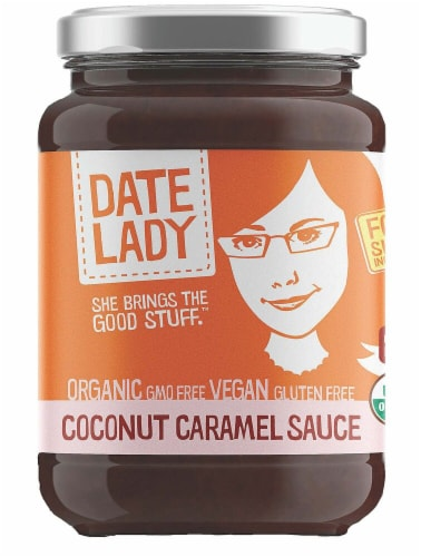 Date Lady  Organic Coconut Caramel Sauce Perspective: front