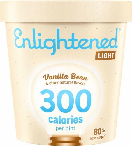Enlightened Vanilla Bean Light Ice Cream Perspective: front